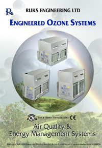 Ruks K Series Duct Mounted Ozone Generators